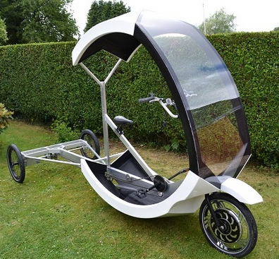 strong lightweight alu chassis can carry 250kg of payload http://www.cargo-trike.com